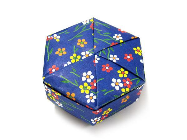 折り紙の宝石箱∞: 2007年3月 : 長方形の紙 箱 折り方 : 折り方