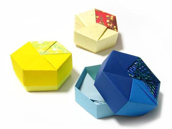 ハート 折り紙 : 折り紙 プレゼント 箱 : divulgando.net