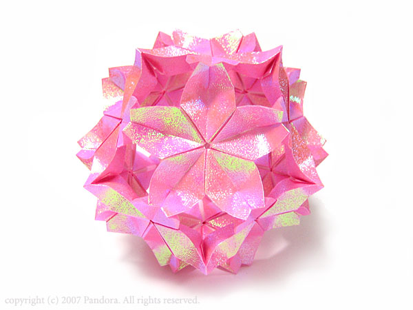 すべての折り紙 折り紙桜の作り方 : ... だま): ∞折り紙の宝石箱