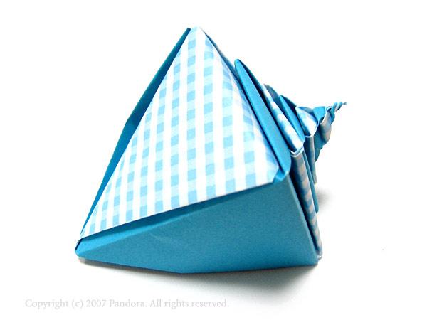 ハート 折り紙:折り紙 ケーキ 折り方 平面-divulgando.net