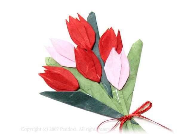 クリスマス 折り紙 : チューリップ 折り紙 : hagifood.com
