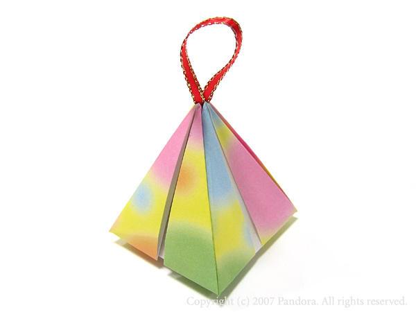 折り紙の 折り紙のリボンの作り方 : 親子でつくろう! 遊べる ...