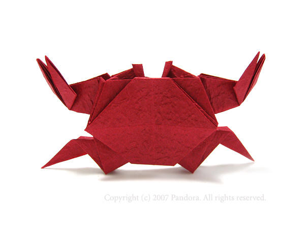 すべての折り紙 折り紙 鶴 画像 : ... とカニ: ∞折り紙の宝石箱