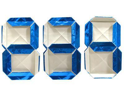 ハート 折り紙 数字 折り紙 : schatulle.cocolog-nifty.com