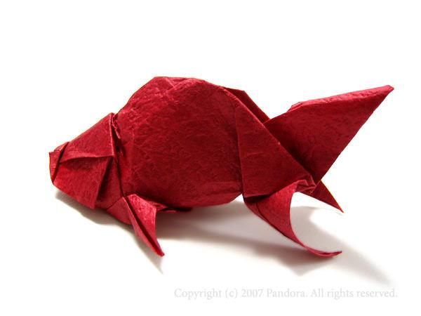 クリスマス 折り紙 折り紙 金魚 : hagifood.com